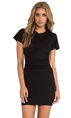 Theory Tucky Dress in Black