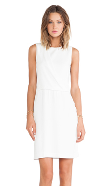Theory Dialia Dress in White