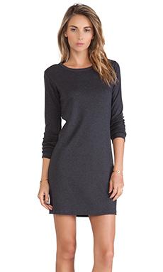 Theory Tullisa Dress in Melange Grey