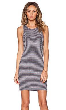 Theory Privina S Dress in Mixed Stripe