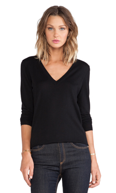 Theory Marlien Sweater in Black