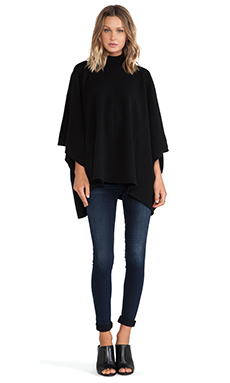 Theory Florencia Poncho in Black