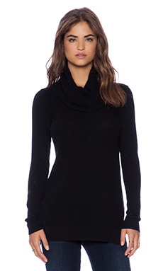 Theory Madalinda Pullover in Black