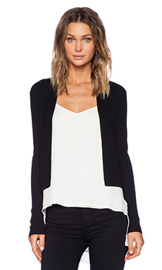 Theory Ganes Cardigan in Black