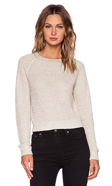 Theory Brombly B Sweater in Beige Marl