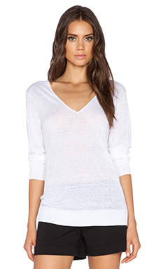 Theory Wynn A Sweater in White