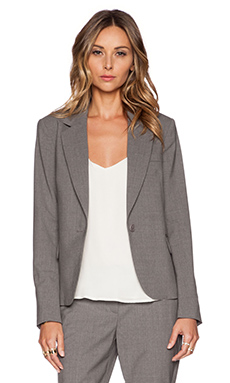 Theory Gabe Blazer in Light Grey