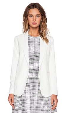 Theory Grinson Blazer in Off White