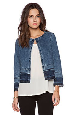 Theory Melanis D Jacket in Indigo