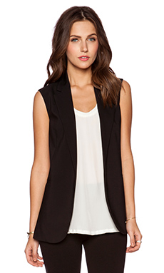 Theory Adar Vest in Black