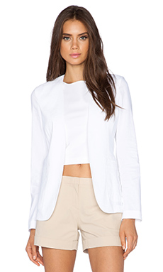 Theory Benisa Crunch Blazer in White
