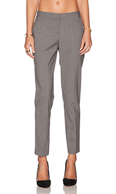 Theory Testra 2B Pant in Heather Grey