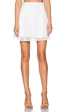 Theory Rortie B Skirt in White