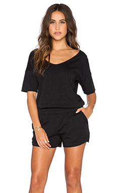 Theory Jiyan Romper in Black
