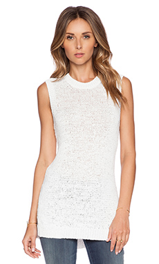 Theory Meenaly Tank in White