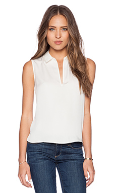 Theory Kenzly Top in Ivory