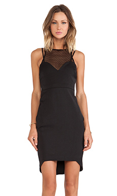 Three of Something Conquest Dress in Black