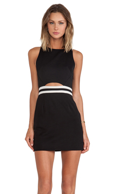 Three of Something Turning Point Dress in Black