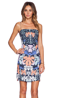 Three of Something Hyper Bluebell Dress in Hyper Floral