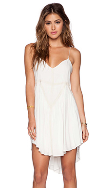 Three of Something Transformation Dress in White & Natural