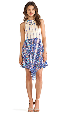 Three of Something Tulsa Dress in Rodeo Print