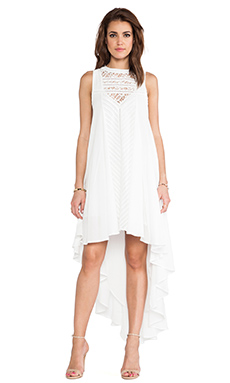 Three of Something Beyond the Breakers Dress in White