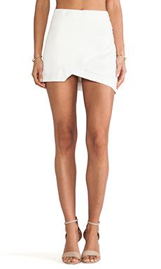 Three of Something Sleeper Skirt in White