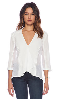 Three of Something Aerial Shirt in White