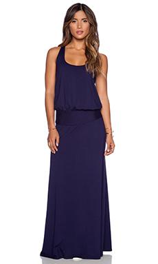 three dots Maxi Dress in Evening Blue