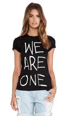 thvm Behati We Are One Tee in Black One