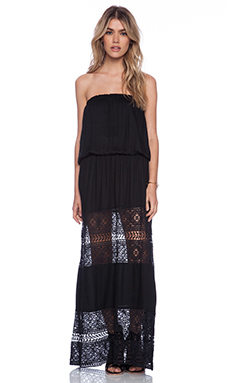Tiare Hawaii Sienna Maxi Dress in Black