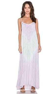 Tiare Hawaii Fiji Maxi Dress in Pink & Lime Vibe