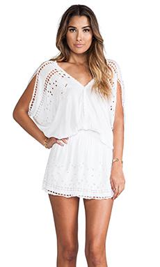 Tiare Hawaii Krawang Mini Dress in White