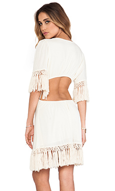 Tiare Hawaii Flyaway Dress in White
