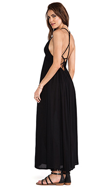 Tiare Hawaii Adair Maxi Dress in Black