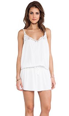 Tiare Hawaii Lydia Mini Tank Dress in White