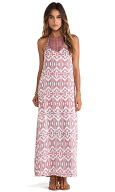 Tiare Hawaii Sunny Days Maxi in Pink Aztec Print