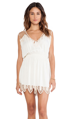 Tiare Hawaii Kona Dress in Cream