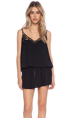 Tiare Hawaii Lydia Mini Tank Dress in Black