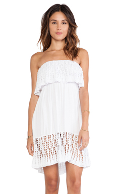 Tiare Hawaii Sea Salt Dress in White