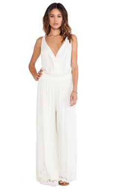 Tiare Hawaii Liv Pantsuit in Cream