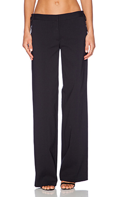 Tibi Milo Sailor Pant in Black