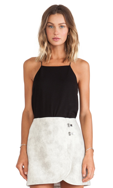 Tibi Savanna Cami in Black