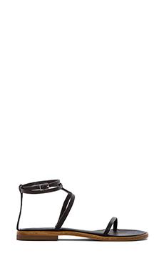 Tibi Colby Sandal in Black