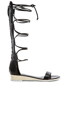 Tibi Beacher Sandal in Black