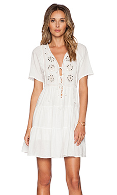 Tigerlily Jasione Smock Dress in Jasmine