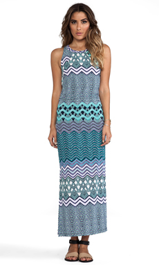 Tigerlily Laharia Midi Dress in Sea