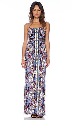 Tigerlily Playa Illetes Maxi Dress in White