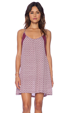 Tigerlily Bambou Dress in Plum