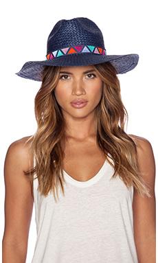 Tigerlily Gaucin Hat in Indigo